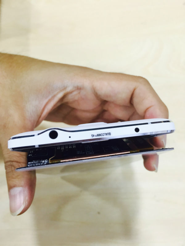 Samsung Note4 posisi lcd connector