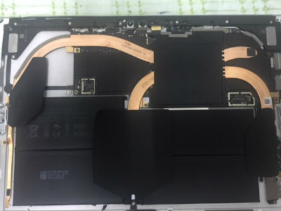 Window Surface Pro 5 disassembly