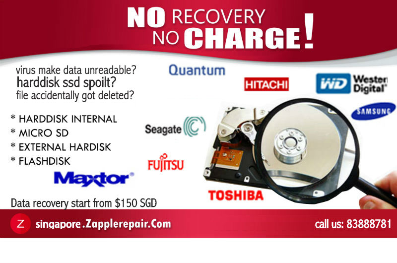 Zapplerepair data recovery Singapore