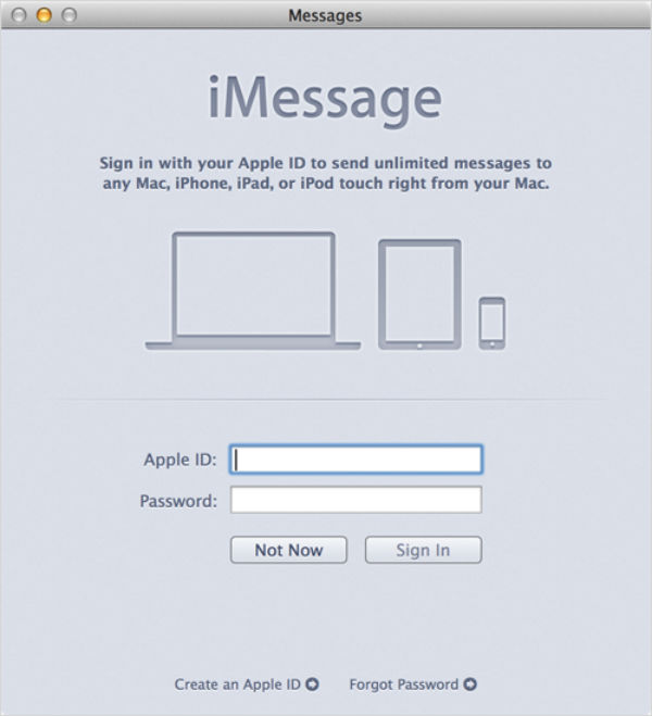 iMessage di Mac