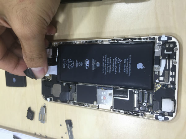 tarik lem battery iPhone 6