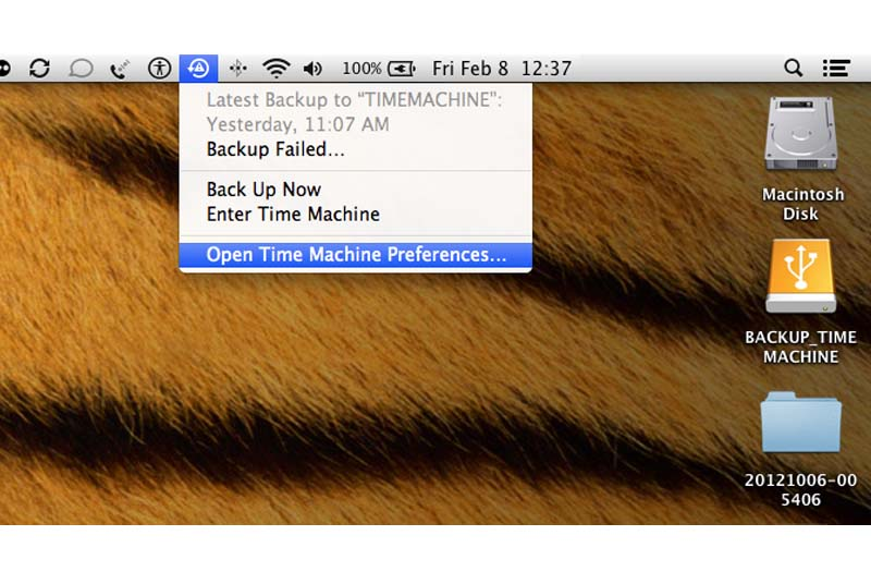 cara time machine di mac